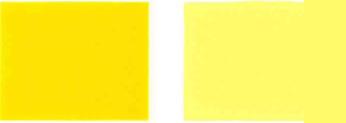 Pigments dzeltens-185-krāsa